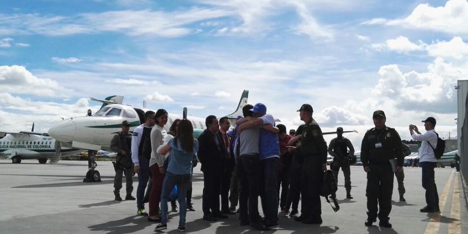 Disidentes de las FARC liberan a funcionario de la ONU secuestrado