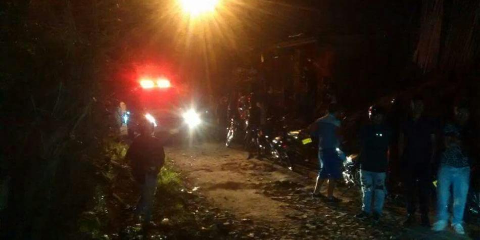 Cuatro heridos deja atentado con granada en Piendamó Cauca
