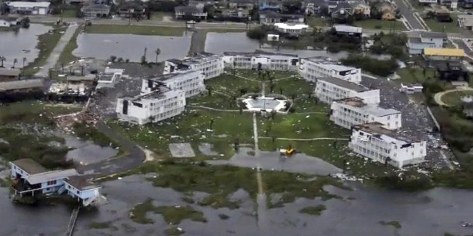 Houston, la ciudad destruida por el huracán Harvey
