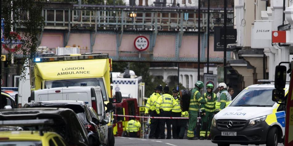 MUNDO | Un hombre fue detenido en relación con el atentado en metro de Londres