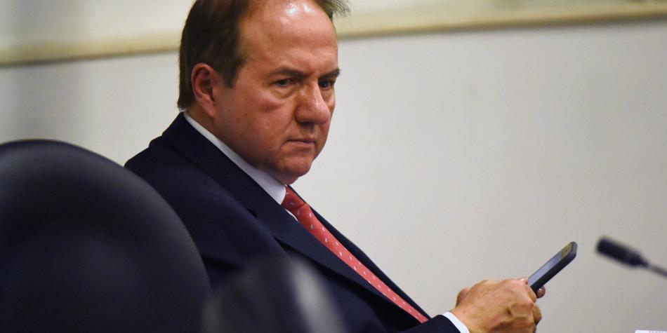 Bustos, otro del 'cartel de la toga' a un paso de ir a juicio penal