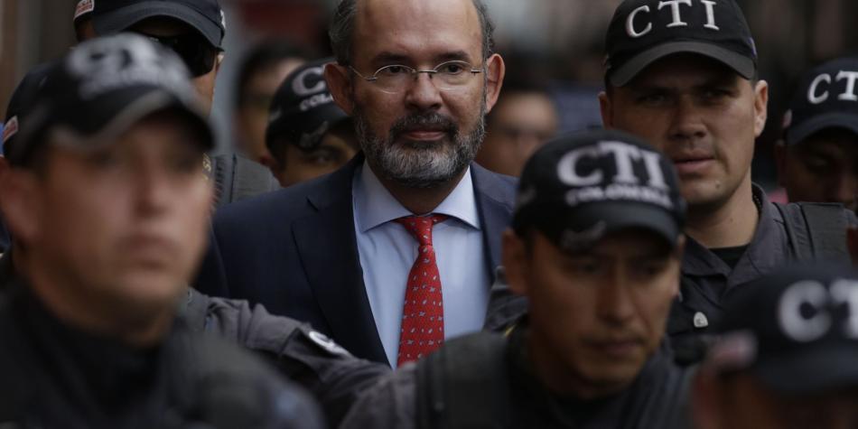 Juez legaliza orden de captura contra el exmagistrado for Juzgados de paloquemao