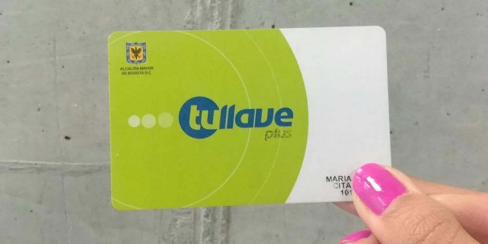 5f7516bba3d Lanzan plataforma virtual para personalizar la tarjeta Tu Llave - Bogotá -  ELTIEMPO.COM