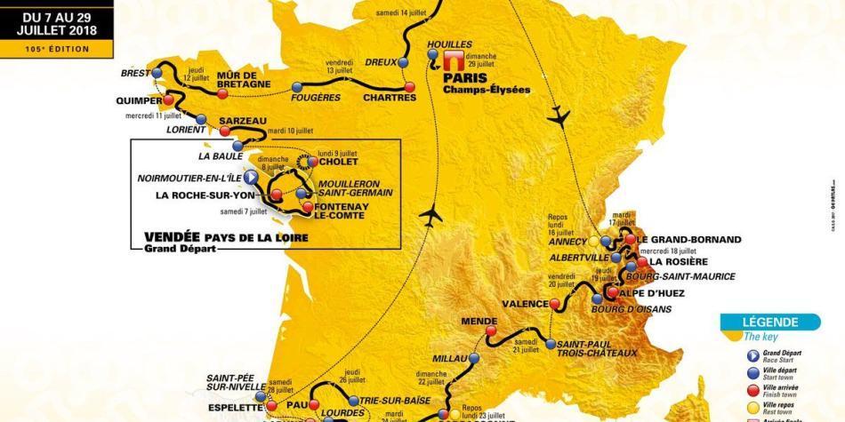 Resultado de imagen para tour de francia 2018