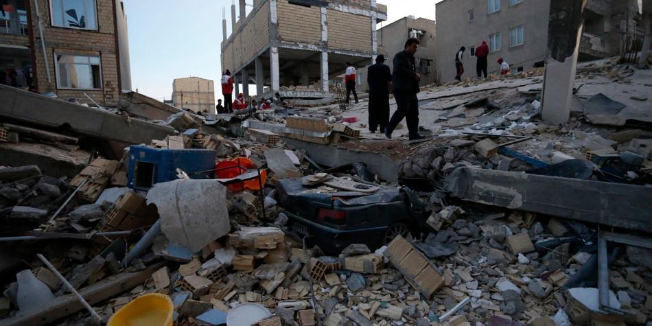 Resultado de imagen para terremoto en iran e irak
