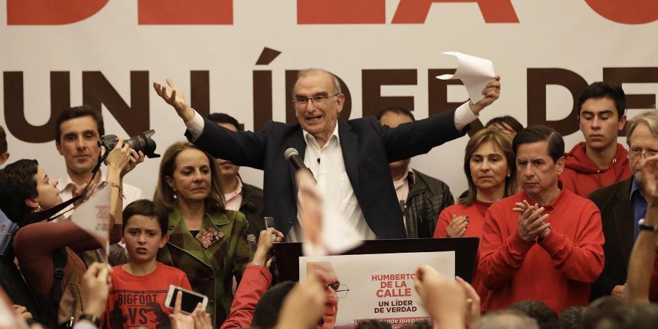 Humberto de la Calle, candidato presidencial