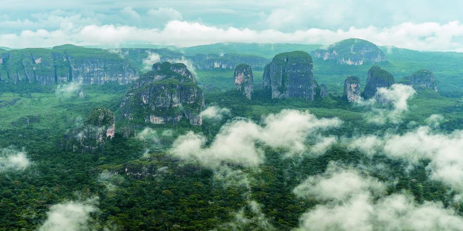 El Escudo Guayanés, las rocas más antiguas de Colombia