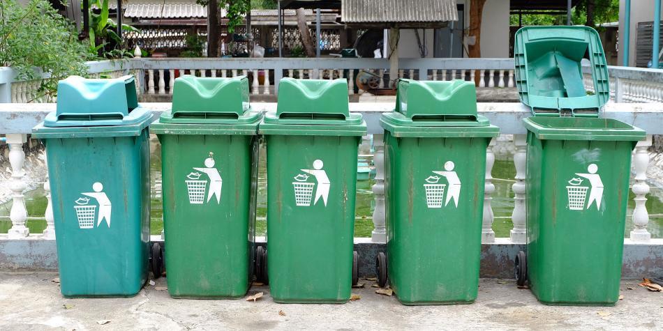 Blanco, negro y verde: nuevo código de colores para reciclar