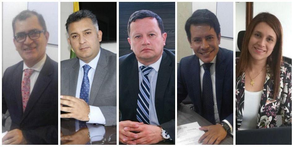 Alcaldes locales Bogotá