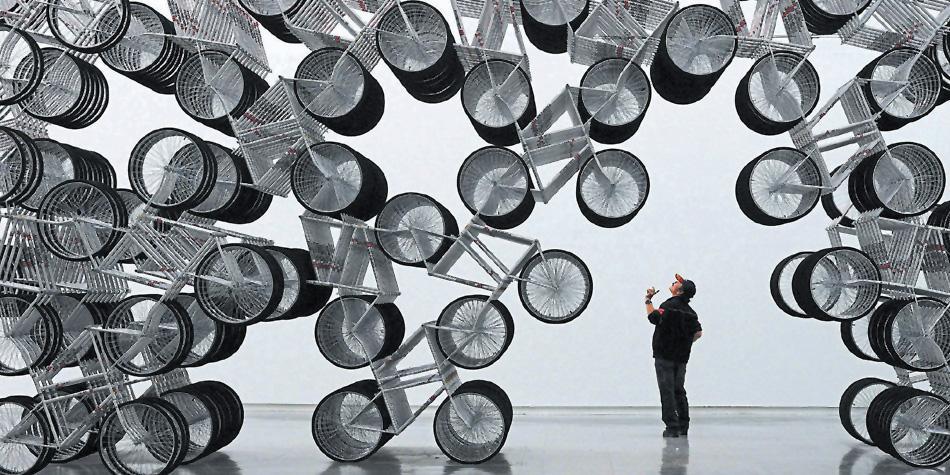 Instalación Forever Bicycles de Ai Weiwei