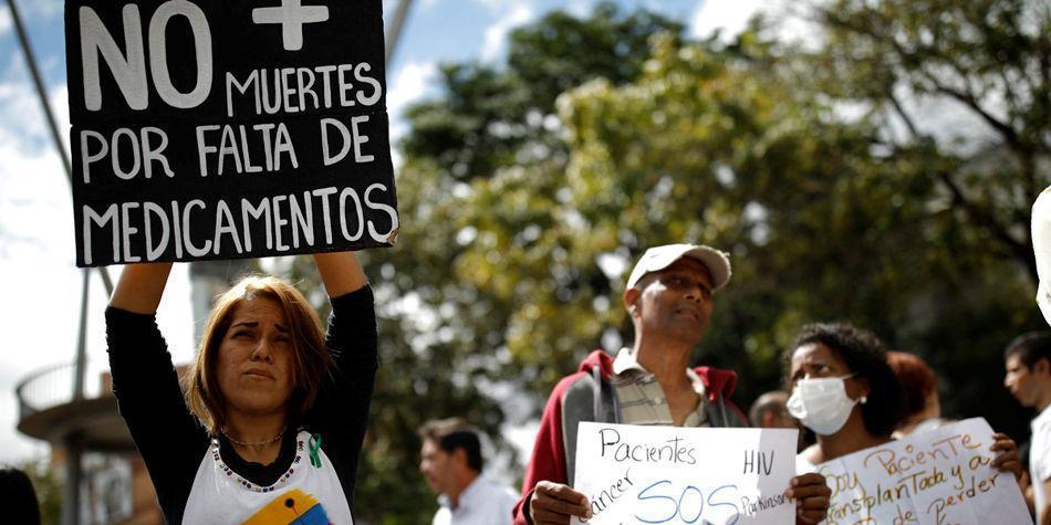 Escasez de medicamentos en Venezuela