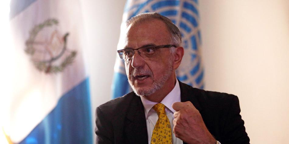 Iván Velásquez, integrante de la Cicig