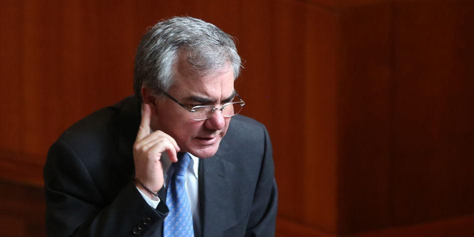 Diego Palacio, exministro condenado