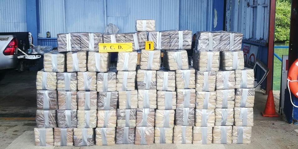 Decomisan en Costa Rica el mayor cargamento de droga de su historia