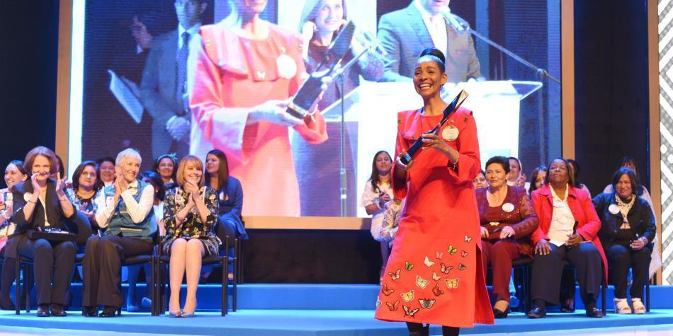 La chocoana Jenny de la Torre fue elegida como la Mujer Cafam 2018
