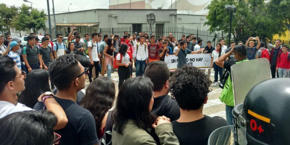 Manifestaciones en Manizales