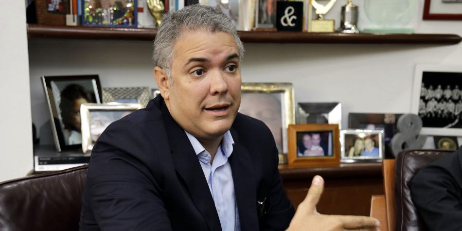 Iván Duque, candidato a la presidencia