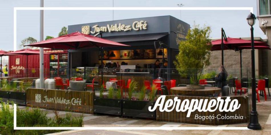 Juan valdez abre nueva tienda en el aeropuerto el dorado - Almacenes el dorado ...