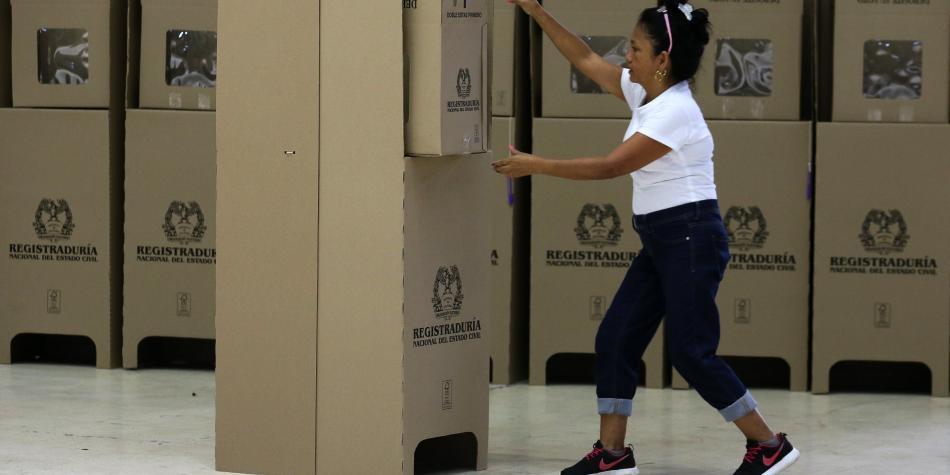 Estos son los tarjetones para votar en las elecciones del Valle y Cali