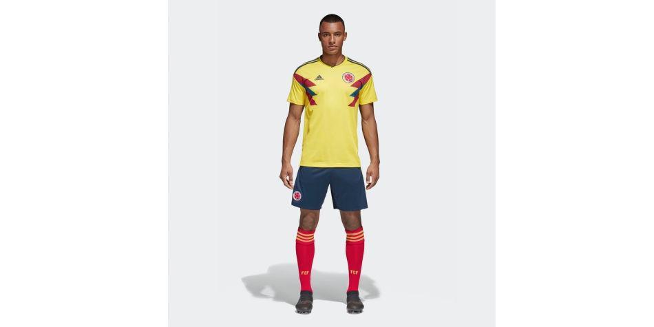 0c74f60810 Uniforme titular de Colombia fue elegido el mejor del Mundial Rusia ...