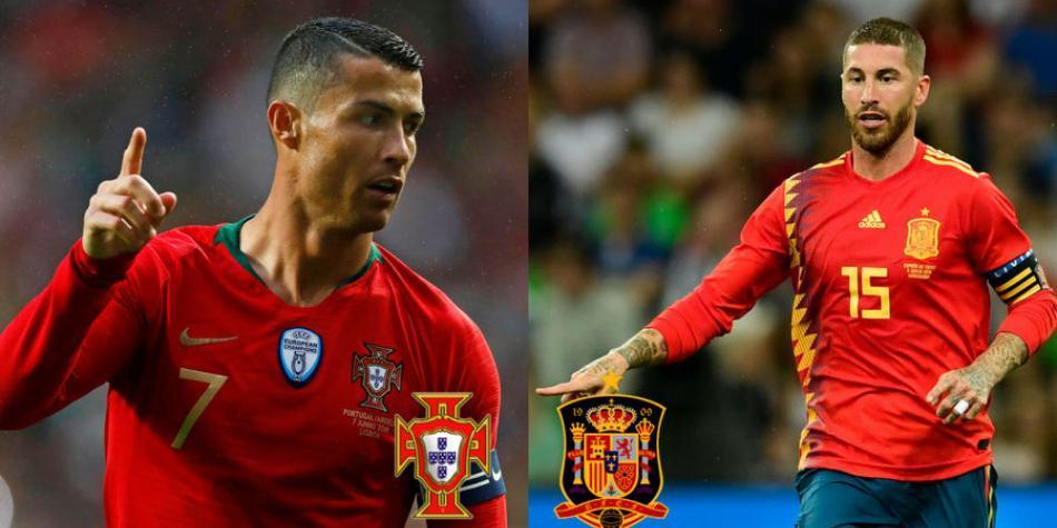 Portugal Vs Espana
