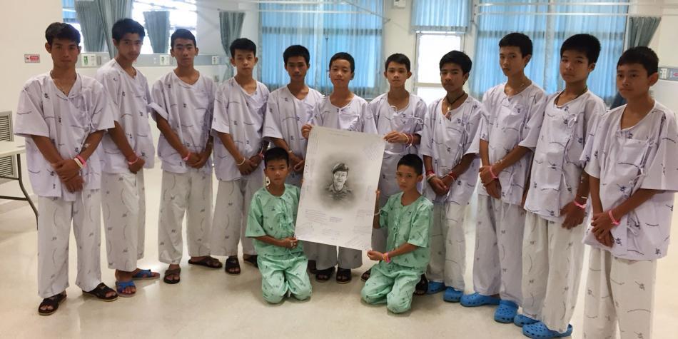 A un año de su rescate, ¿qué ha pasado con niños de cueva tailandesa?