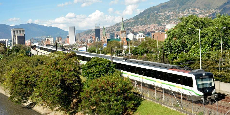 Accidente en el Metro de Medellín