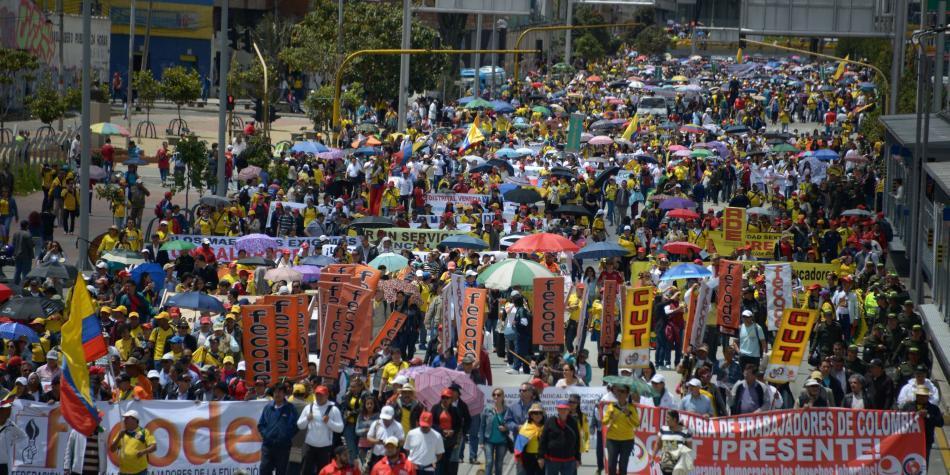 Central Unitaria de Trabajadores hizo críticas al Plan Nacional de Desarrollo