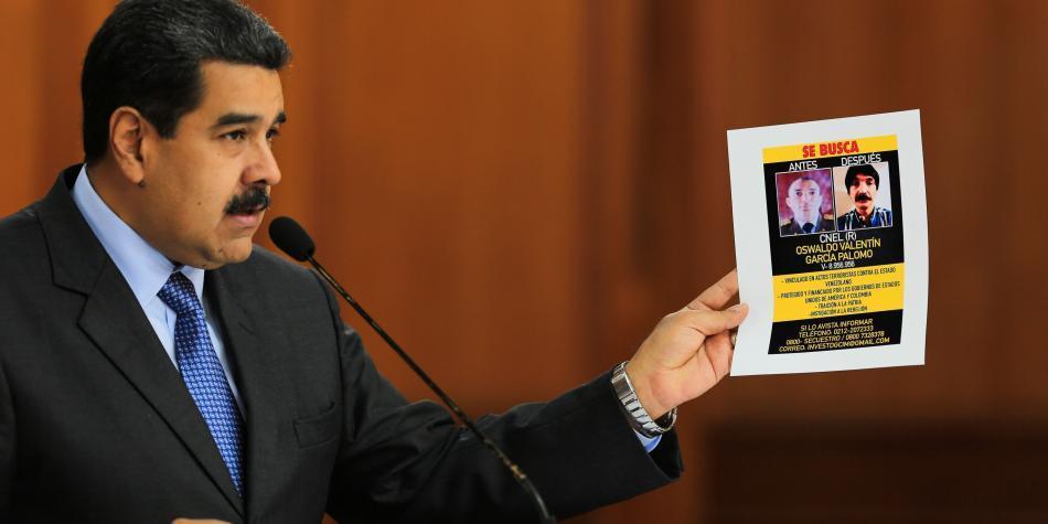 Régimen de Maduro apunta a diputados como los autores del supuesto ataque en su contra