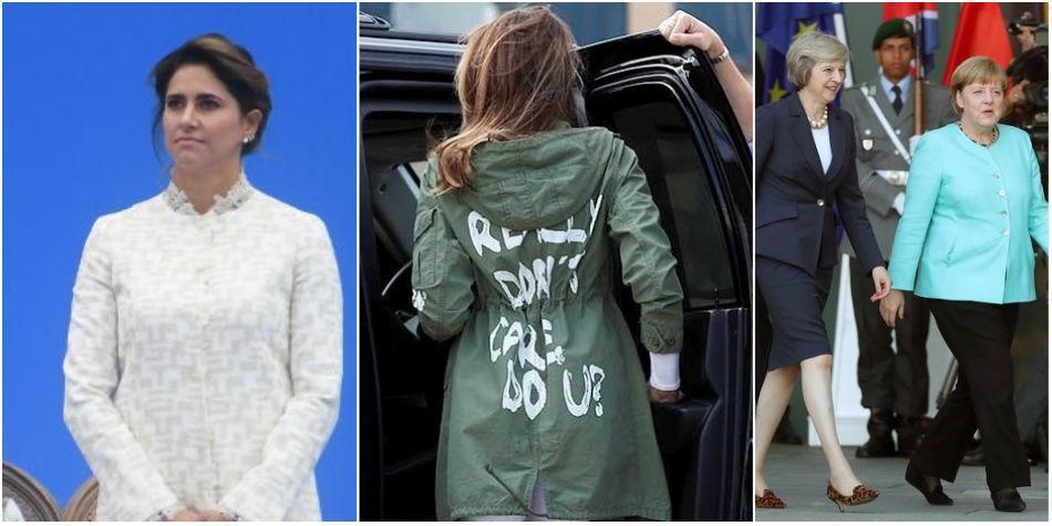 12e69f7bfb Críticas a la Primera Dama María Juliana Ruiz por vestido