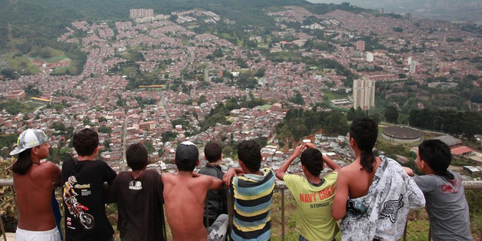 Solo el 32 por ciento de los jóvenes se sienten seguros en Medellín