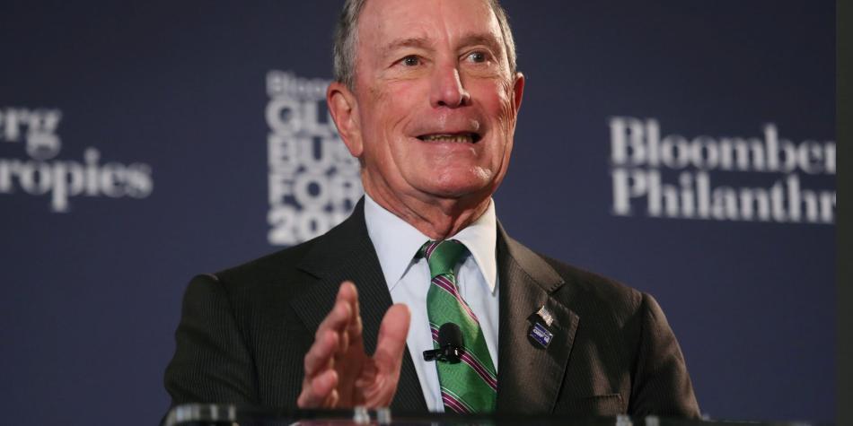 Michael Bloomberg podría competirle a Trump la elección presidencial