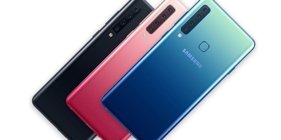 927f12f4128 Celular de 4 cámaras de Samsung precio y características A9 en ...