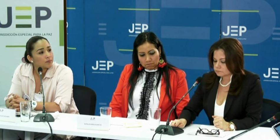 Familiares de los diputados del Valle declaran en la JEP - JEP Colombia -  Justicia - ELTIEMPO.COM