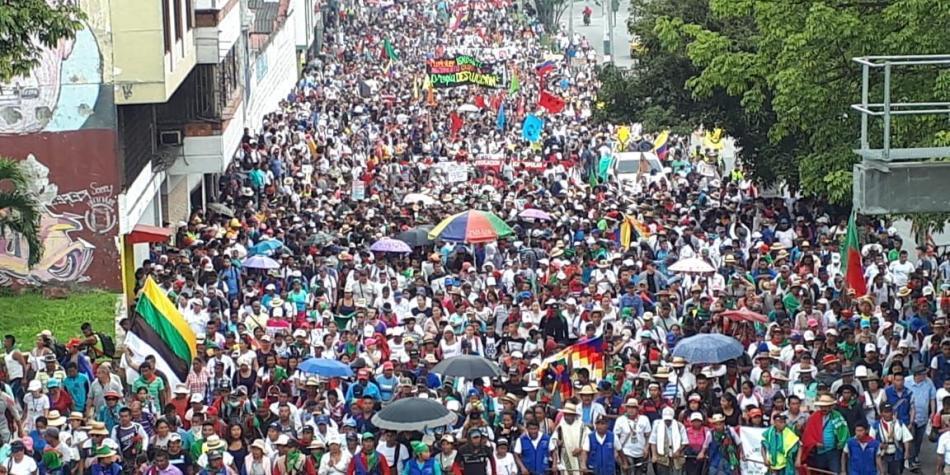 Marchas 28 noviembre Colombia