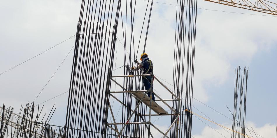 Insumos, la clave en el sector constructor