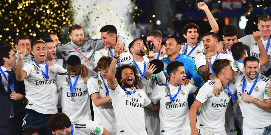 Resultado de imagen para REAL MADRID 2018 mundial de clubes