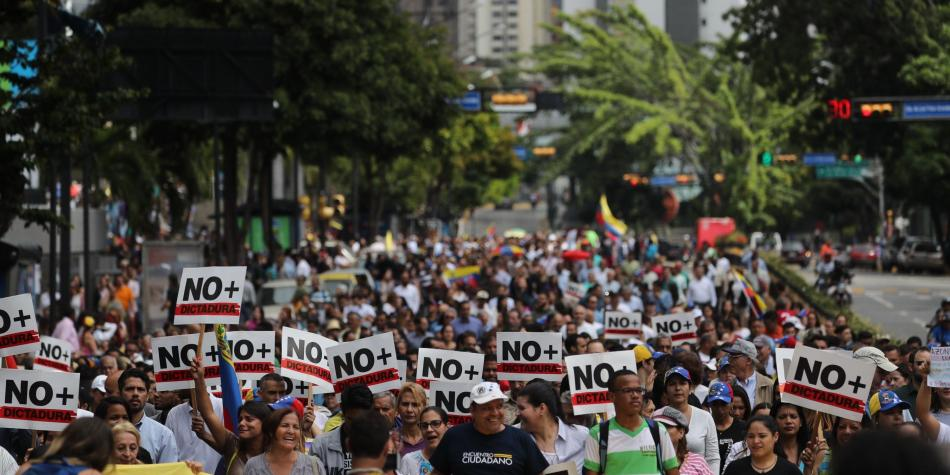 Venezuela se prepara para nueva movilización contra Nicolás Maduro
