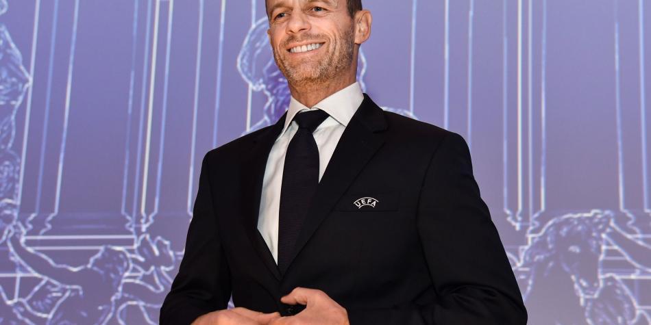 Aleksander Ceferin, reelegido como presidente de la Uefa hasta el 2023