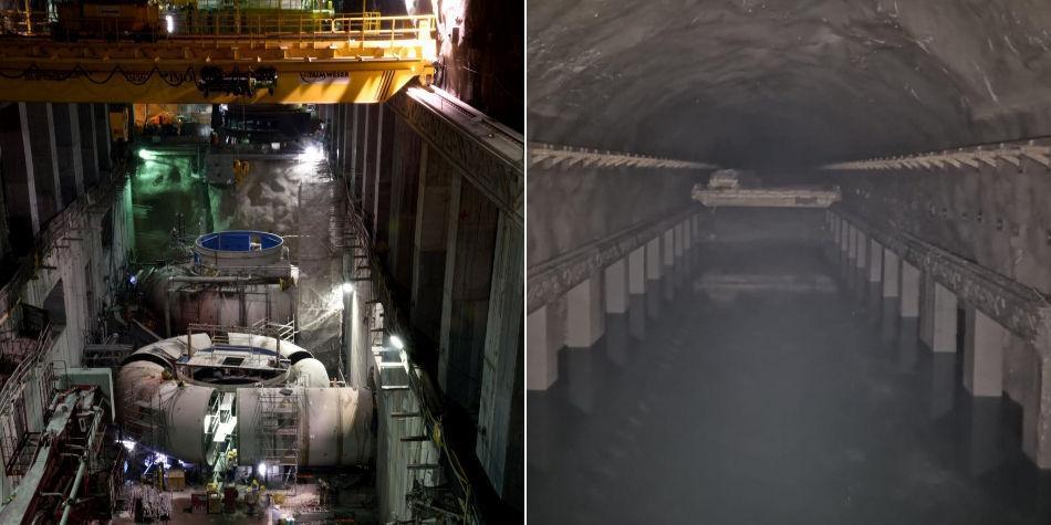 Foto revela el estado actual de la casa de máquinas de Hidroituango