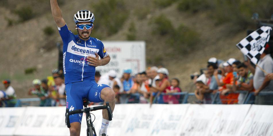 'Esta vez el Tour Colombia tiene un recorrido muy duro': Alaphilippe
