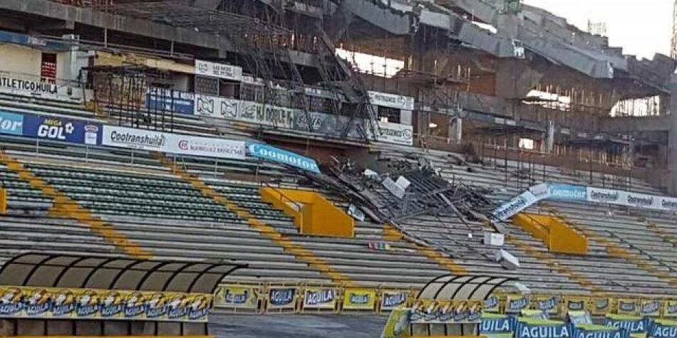 Luz verde para estadio de Neiva, tras colapso de tribuna hace 2 años
