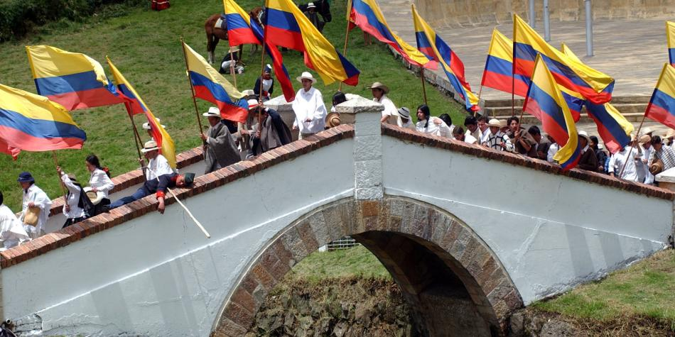 Image result for puente de boyaca