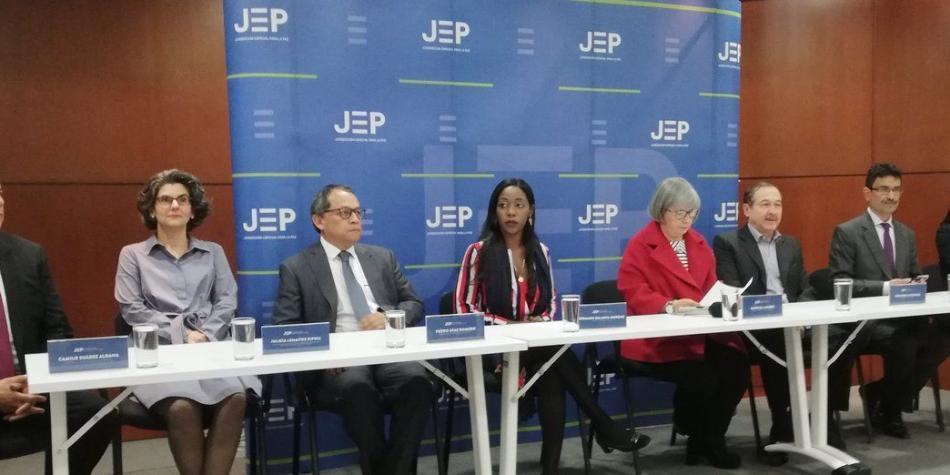 Resultado de imagen para jep colombia