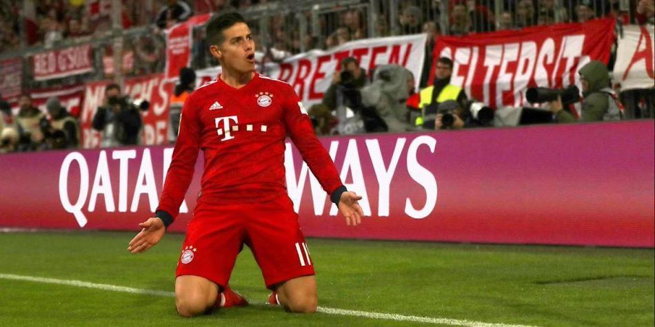 'Preciso, mágico, prodigioso': la Bundesliga se rinde ante James