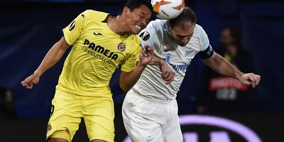 Bacca anotó en clasificación de Villarreal a cuartos de Europa League