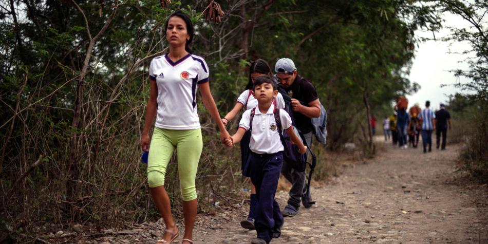Colombia logró que 200.000 niños venezolanos tengan acceso a educación