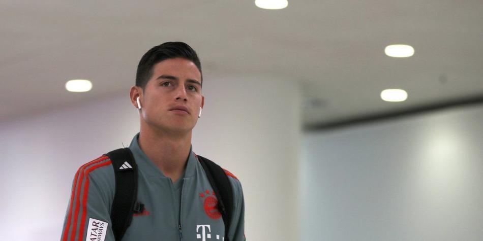 James Rodríguez volvió a los entrenamientos con Bayern Múnich
