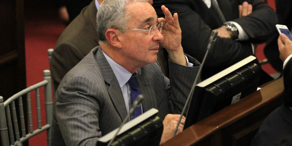 'Yo sí quisiera terminar rápido mi estadía en el Congreso': Uribe