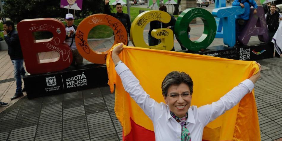 Regaño de Claudia López a periodista provocó avalancha de críticas
